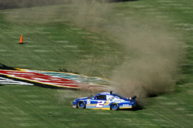 Kurt Busch crashes at Talladega, 2009