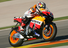 Andrea Dovizioso, Honda, Valencia 2009