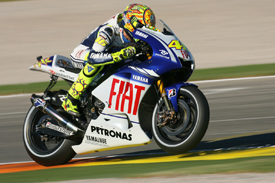 Valentino Rossi, Yamaha, Valencia 2009