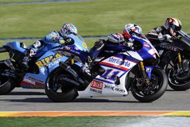 Ben Spies, Yamaha, Valencia 2009