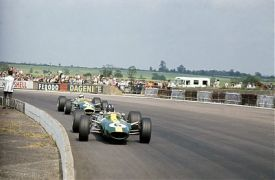 Jim Clark Graham Hill 1967