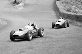 Peter Collins Mike Hawthorn German Grand Prix 1958