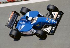 Martin Brundle 1993 Spanish Grand Prix