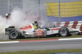 Anthony Davidson 2005 Malaysian Grand Prix
