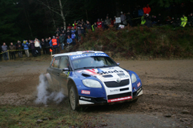 Guy Wilks, Skoda, Rally of Scotland 2009