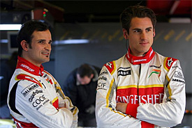 Tonio Liuzzi, Adrian Sutil