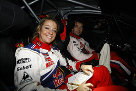 Severine and Sebastien Loeb, Rallye du Var 2009