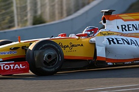 Bertrand Baguette, Renault, Jerez testing