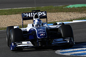 Andy Soucek, Williams, Jerez testing