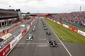 British Grand Prix start 2009