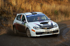 Dave Weston Jr, Subaru, Rally of Scotland 2009