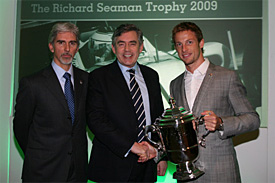 Damon Hill, Gordon Brown, Jenson Button