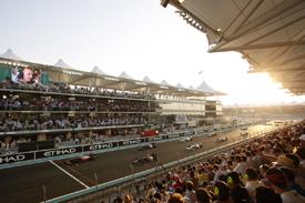 2009 Abu Dhabi Grand Prix grid