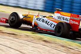 Renault, young driver test, 2009