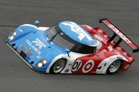 Ganassi testing at Daytona, January 2010