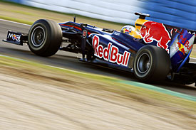 Red Bull testing