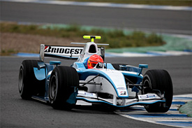 Michael Schumacher, GP2 testing, Jerez