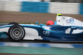 Michael Schumacher, GP2 test, Jerez 2010