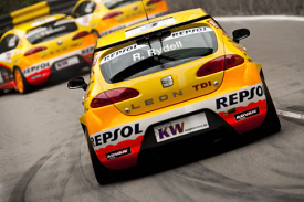 WTCC SEAT Leons at Macau