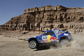 Carlos Sainz, 2010 Dakar rally