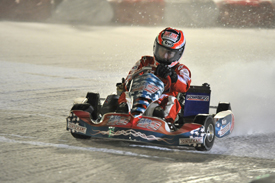Nicky Hayden, Wrooom ice karting 2010