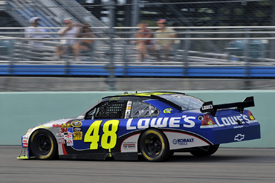 Jimmie Johnson, Hendrick Chevrolet, Homestead 2009