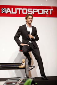 Jenson Button at AUTOSPORT International 2010