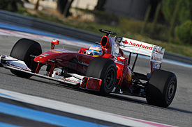 Fernando Alonso, Ferrari, Paul Ricard
