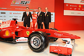 Fernando Alonso, Ferrar launch