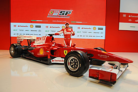 Felipe Massa, Ferrari launch