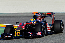 Sebastien Buemi at Valencia
