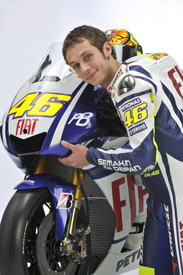 Valentino Rossi, Yamaha unveiling
