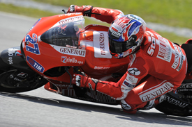 Casey Stoner, Ducati, Sepang testing 2010