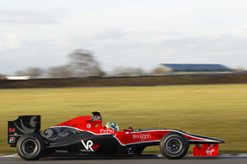 Lucas di Grassi, Virgin shakedown, Silverstone, February 2010