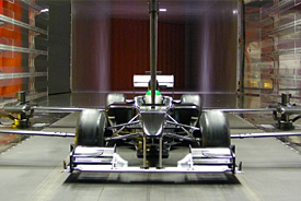 Lotus wind-tunnel model