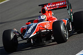 Timo Glock, Virgin Racing, Jerez