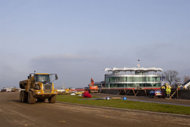 Silverstone construction work