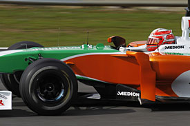 Vitantonio Liuzzi, Force India, 2010