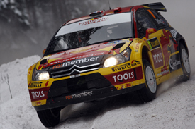 Petter Solberg, Solberg Citroen, Rally Sweden 2010
