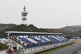 Jerez testing