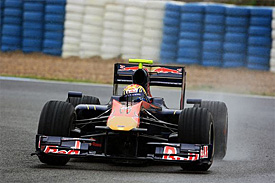 Jaime Alguersuari, Toro Rosso, Jerez testing