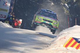 Mikko Hirvonen, Ford, Rally Sweden 2010