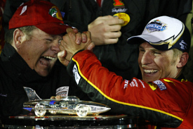 Chip Ganassi and Jamie McMurray
