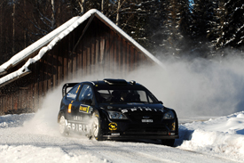 Marcus Gronholm, Stobart Ford, Rally Sweden 2010