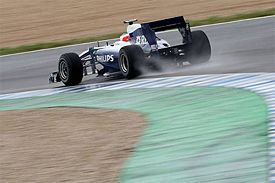 Rubens Barrichello, Williams, Jerez testing