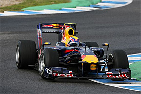 Mark Webber, Red Bull, Jerez testing