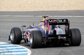 Mark Webber, Red Bull, Jerez testing 2010