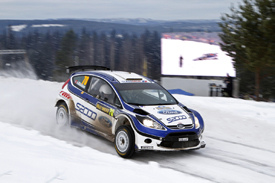 Andreas Mikkelsen, Ford, Rally Sweden 2010