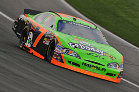 Danica Patrick, Fontana, 2010
