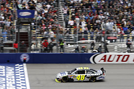Fontana winner Jimmie Johnson, 2010